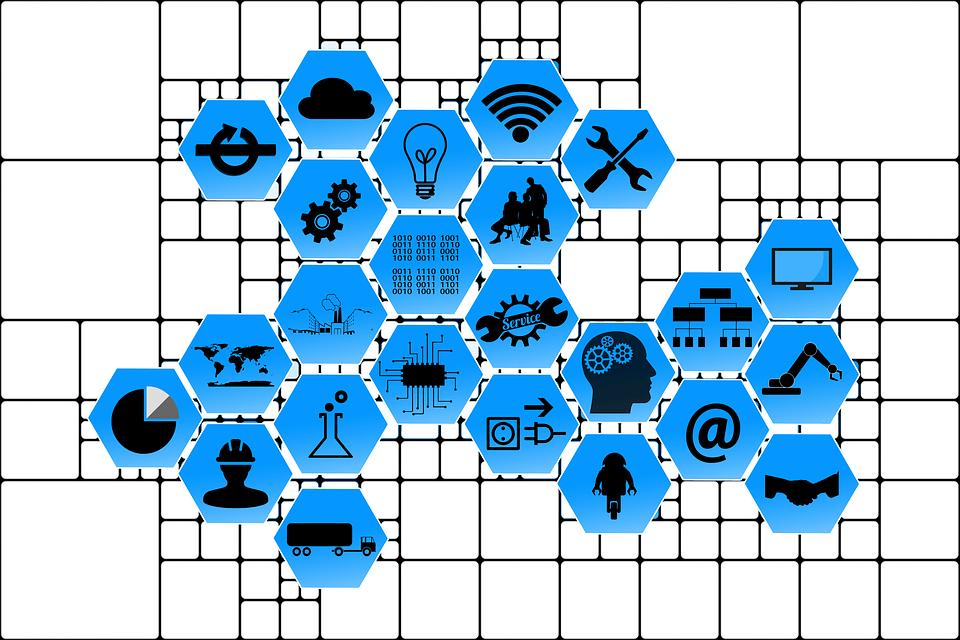 Industriebranchensymbole