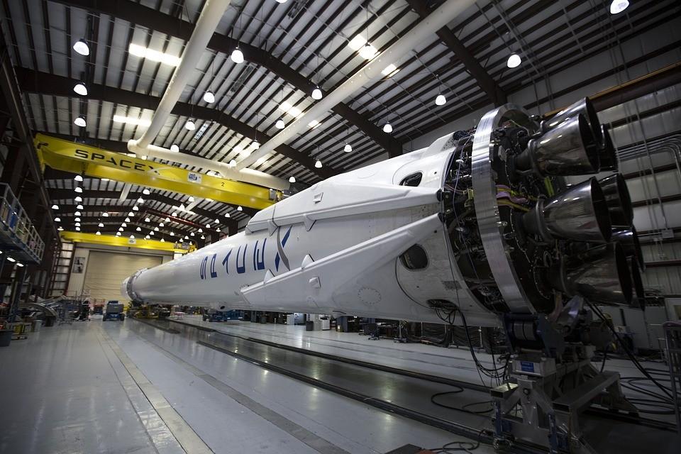 Space X Rakete