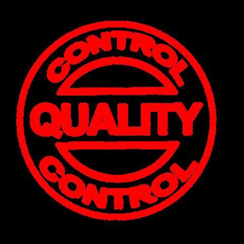 Qualitätskontrollstempel